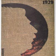 Carteles Políticos: 1929. COLECTIVIZACION. Lote 57147057