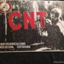 Carteles Políticos: CARTEL POLITICO AÑOS 70/80 CNT. Lote 57680277