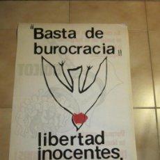 Carteles Políticos: ANTIGUO CARTEL CATALAN DE TRANSICION DE EXTREMA IZQUIERDA, CNT. Lote 69891893