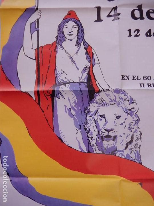 Carteles Políticos: Póster / cartel del mitin de Alianza por la Republica en el 60 aniversario de la II República - Foto 2 - 70199041