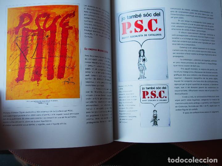 Carteles Políticos: El Cartells de la Democràcia - 1976 - 2000 Catálogo fondo carteles políticos - Texto bilingüe - Foto 5 - 76671387