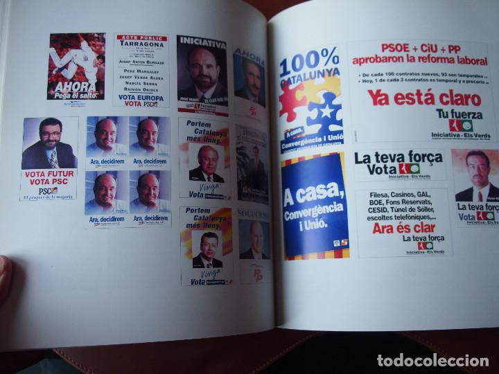 Carteles Políticos: El Cartells de la Democràcia - 1976 - 2000 Catálogo fondo carteles políticos - Texto bilingüe - Foto 6 - 76671387
