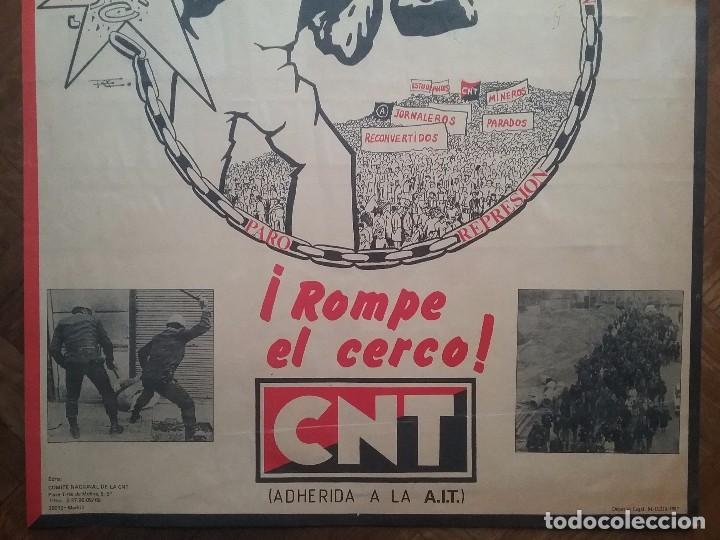 Carteles Políticos: CNT CARTEL 1° MAYO A.I.T. AÑO 1987 - Foto 5 - 89173012