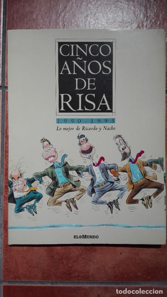 CINCO AÑOS DE RISA 1990- 1995 LO MEJOR DE RICARDO Y NACHO COMPLETA (Coleccionismo - Carteles gran Formato - Carteles Políticos)