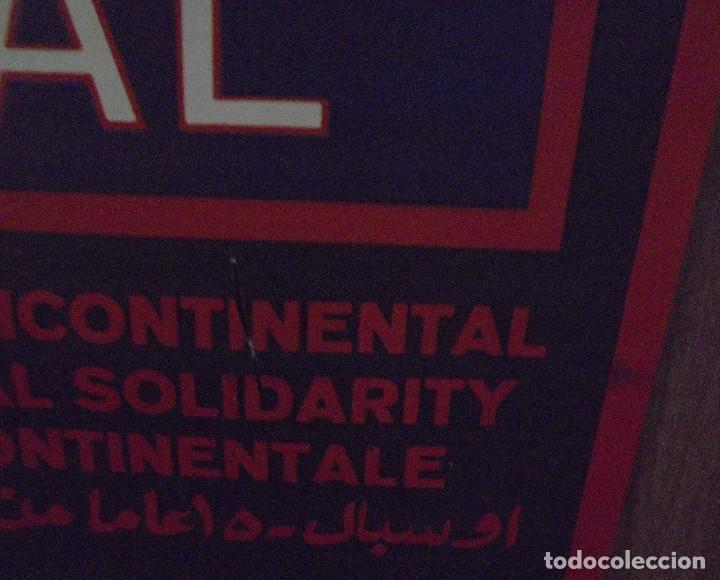 Carteles Políticos: CARTEL. OSPAAAL. AÑOS 60. 15 AÑOS DE SOLIDARIDAD TRICONTINENTAL. 68 X 45CM - Foto 3 - 98821475