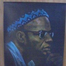 Carteles Políticos: CARTEL. OSPAAAL. AÑOS 60. AFRICA GUINEANA. PASTEL DE ORLANDO YANES. MEDIDAS: 42 X 60CM. VER FOTOS. Lote 98821551