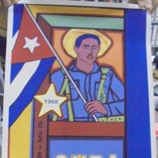 Carteles Políticos: CARTEL. LITOGRAFIA. OSPAAAL. AÑOS 60. CUBA. 1968. MEDIDAS: 36 X 55CM. Lote 103289291