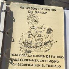Carteles Políticos: ANTIGUO CARTEL POLÍTICO,TRANSICIÓN POLÍTICA,FUERZA NUEVA O FUERZA JOVEN,FRENTE NACIONAL,ARTÍCULO COL. Lote 110067372
