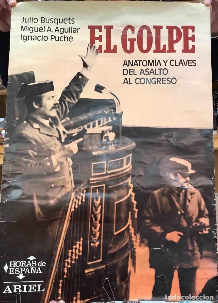 cartel anuncio del libro el golpe - anatomía y - Comprar Carteles ...