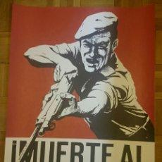 Carteles Políticos: CARTEL CUBA,REVOLUCIÓN CUBANA,CHÉ, FIDEL CASTRO,ORIGINAL. Lote 146078772