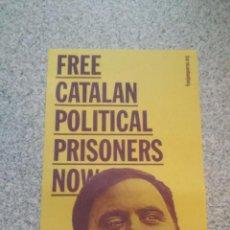 Affissi Politici: POSTER POLITICO POLITIC CARTELL CARTEL JUNQUERAS ERC ESQUERRA REPUBLICANA CATALUNYA LIBERTAD FREEDOM. Lote 113557311
