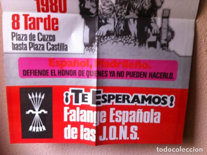 Carteles Políticos: CARTEL FALANGE ESPAÑOLA DE LAS JONS - Foto 2 - 114259503