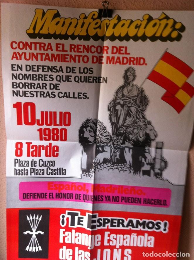 Carteles Políticos: CARTEL FALANGE ESPAÑOLA DE LAS JONS - Foto 3 - 114259503