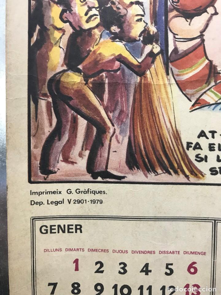 Carteles Políticos: EL CIRC CIRCO DE LA DETRA-KRACIA - CARTEL CALENDARIO AÑO 1980 - Foto 2 - 121125279