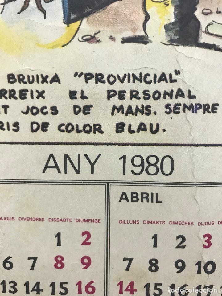 Carteles Políticos: EL CIRC CIRCO DE LA DETRA-KRACIA - CARTEL CALENDARIO AÑO 1980 - Foto 3 - 121125279