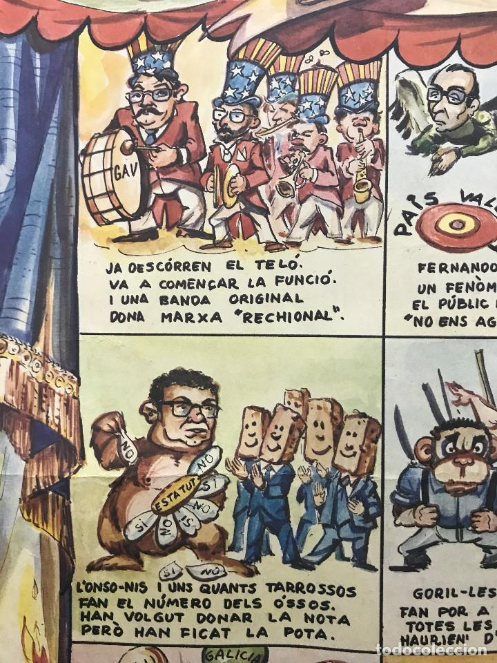 Carteles Políticos: EL CIRC CIRCO DE LA DETRA-KRACIA - CARTEL CALENDARIO AÑO 1980 - Foto 7 - 121125279