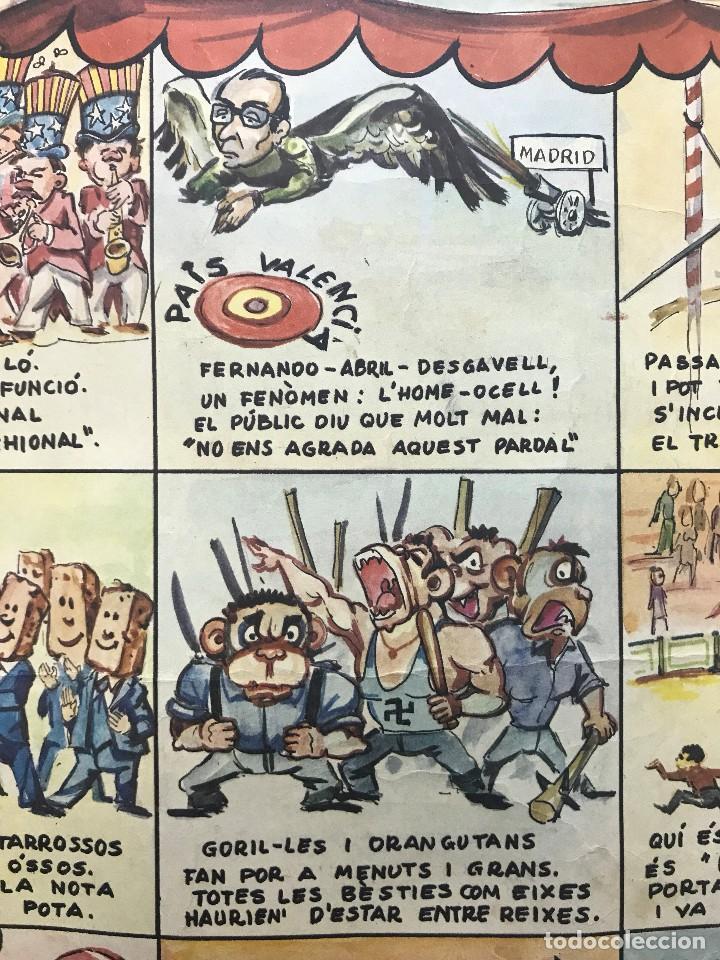 Carteles Políticos: EL CIRC CIRCO DE LA DETRA-KRACIA - CARTEL CALENDARIO AÑO 1980 - Foto 8 - 121125279