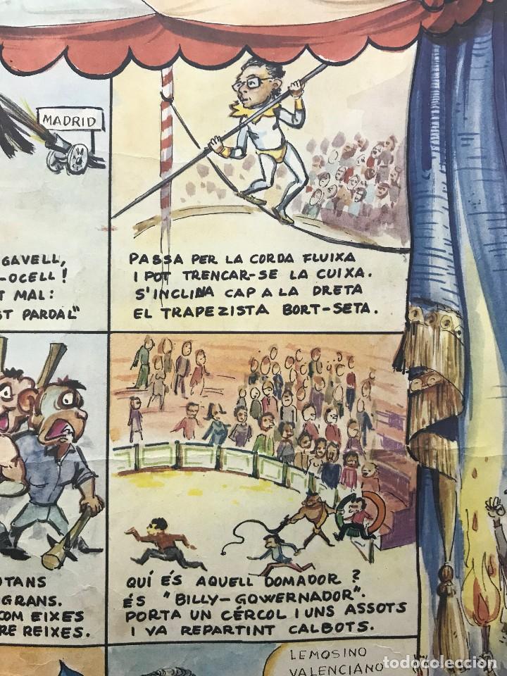Carteles Políticos: EL CIRC CIRCO DE LA DETRA-KRACIA - CARTEL CALENDARIO AÑO 1980 - Foto 9 - 121125279