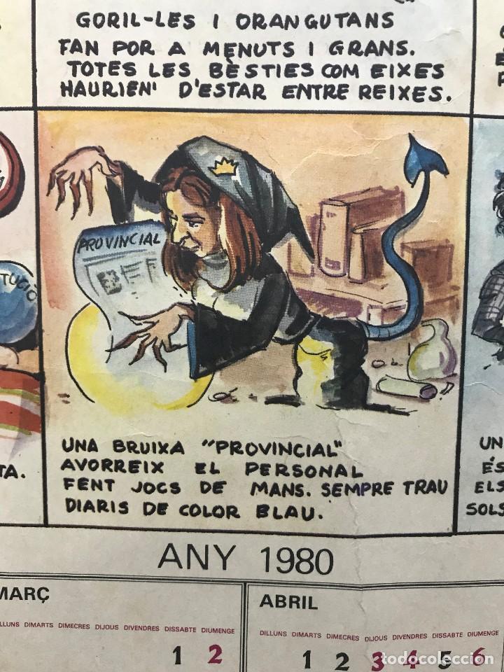 Carteles Políticos: EL CIRC CIRCO DE LA DETRA-KRACIA - CARTEL CALENDARIO AÑO 1980 - Foto 11 - 121125279