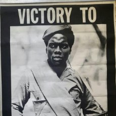 Carteles Políticos: SUDAFRICA - 1970 - VICTORY TO PEOPLE'S WAR . Lote 135081862
