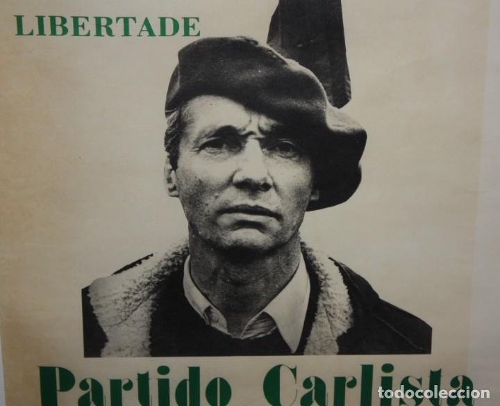 Carteles Políticos: CARLOS HUGO-CARTEL-PARTIDO CARLISTA-1977-(150 AÑOS DE LUCHA). - Foto 3 - 140541770