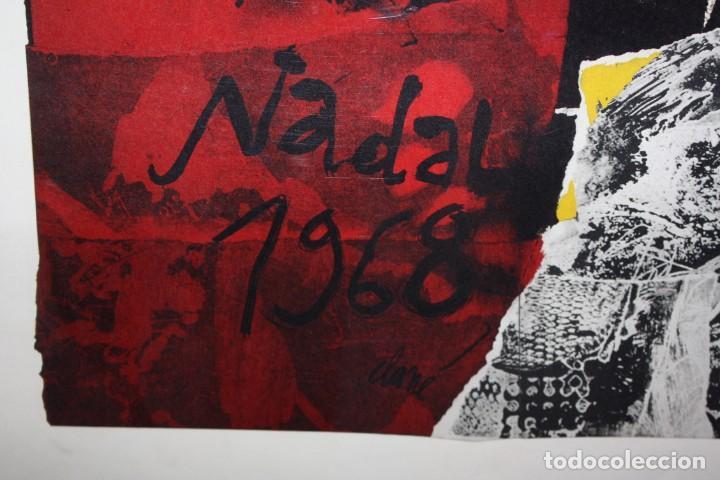 Carteles Políticos: CARTEL DE- ANTONI CLAVÉ-NADAL 1968- MUY DECORATIVO. - Foto 2 - 140563030