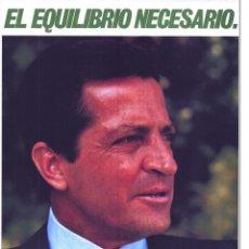 Carteles Políticos: CARTEL POLÍTICO, ADOLFO SUÁREZ, CDS (ANTIGUOUCD), ORIGINAL 1983, ELECCIONES MUNICIPALES. Lote 141730826