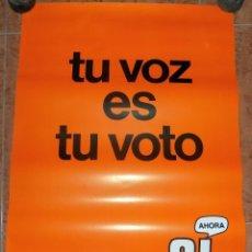 Carteles Políticos: CARTEL REFERENDUN 1976, PLENA TRANSICION . W. Lote 179514680