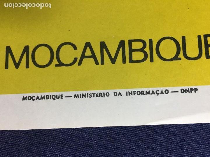 Carteles Políticos: cartel politico ano internacional da criança republica popular moçambique años 70 38x27,5cms - Foto 2 - 144439542