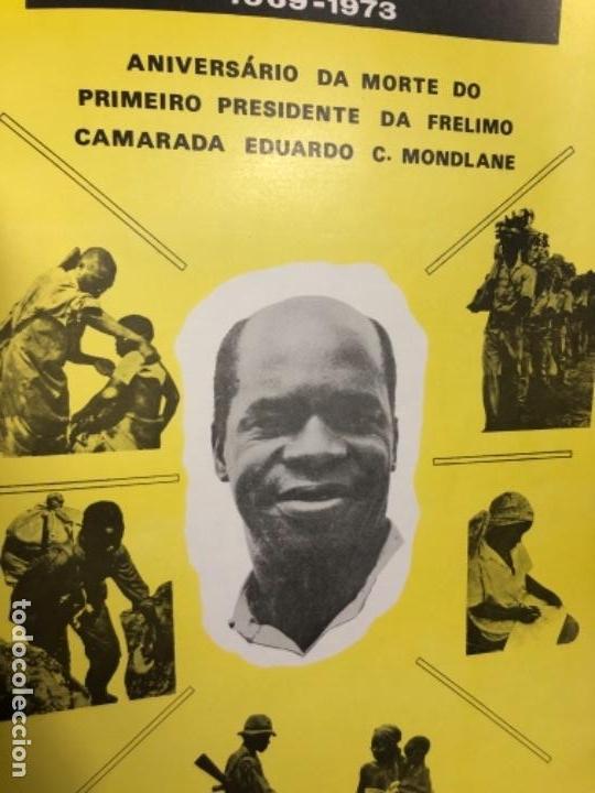 Carteles Políticos: cartel 3 fevreiro 1969 1973 aniversario morte presidente frelimo mondlane republica moçambique - Foto 2 - 144440298