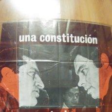 Carteles Políticos: CARTEL DE LA TRANSICION. Lote 145364176