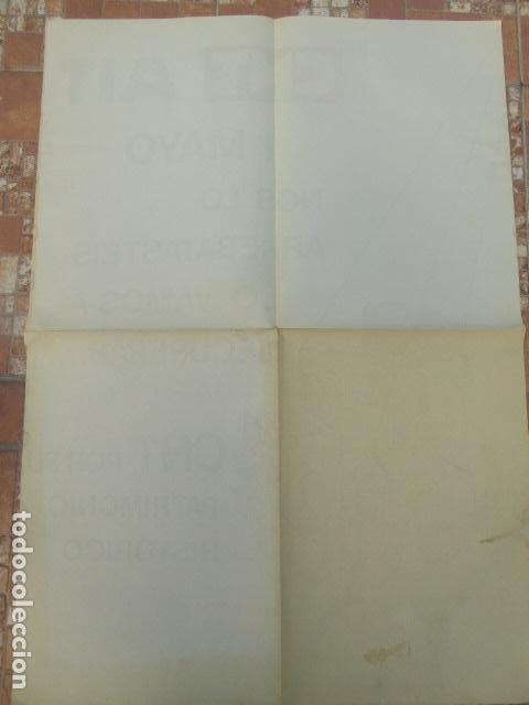 Carteles Políticos: CARTEL CNT / AIT. 1º DE MAYO. 1980. 49 X 70 CM - Foto 2 - 145411686