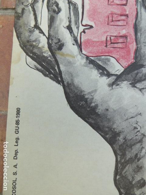 Carteles Políticos: CARTEL CNT / AIT. 1º DE MAYO. 1980. 49 X 70 CM - Foto 4 - 145411686
