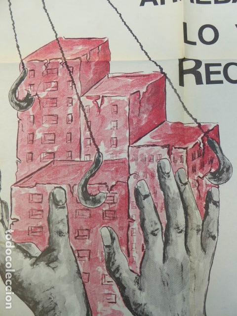 Carteles Políticos: CARTEL CNT / AIT. 1º DE MAYO. 1980. 49 X 70 CM - Foto 5 - 145411686