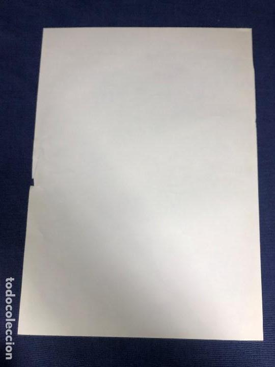 Carteles Políticos: CARTEL MOÇAMBIQUE AÑOS 70 7 ABRIL MULHER FRELIMO 38X27,5CMS - Foto 3 - 145506070