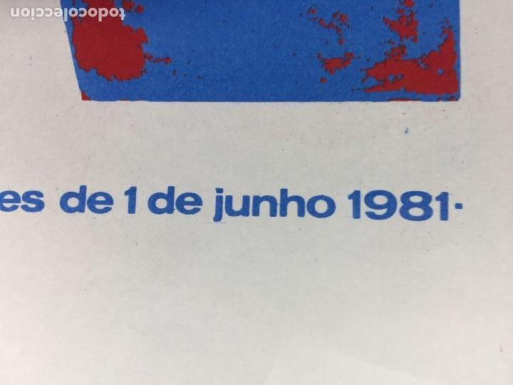 Carteles Políticos: CARTEL MOÇAMBIQUE 2 FESTIVAL PAPAGAIOS 31 MAIO 1981 38X27,5CMS - Foto 2 - 145506834