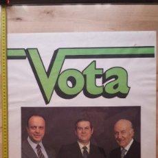 Carteles Políticos: COALICIÓN DEMOCRÁTICA - ELECCIONES GENERALES 1979. Lote 156691910