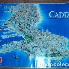 Carteles Políticos: CARTEL DE CÁDIZ CON PUBLICIDAD DE RAFAEL ROMÁN, DEL PSOE, 2007. Lote 160683158