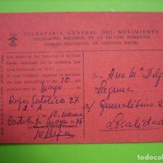 Carteles Políticos: SECRETARÍA GENERAL DEL MOVIMIENTO. CORDOBA. Lote 160960458