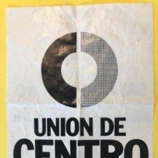 Carteles Políticos: UCD COLOQUIO POLITICO UNION CENTRO DEMOCRATICO JUAN GIL IGNACIO CAMUÑAS. Lote 172045909