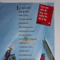 Carteles Políticos: POSTER ART 14 CONSTITUCIÓN ESPAÑOLA 1989 68 X 49 CM. Lote 173425334