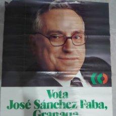 Carteles Políticos: ANTIGUO CARTEL ELECTORAL UCD ANDALUCIA. Lote 174994994
