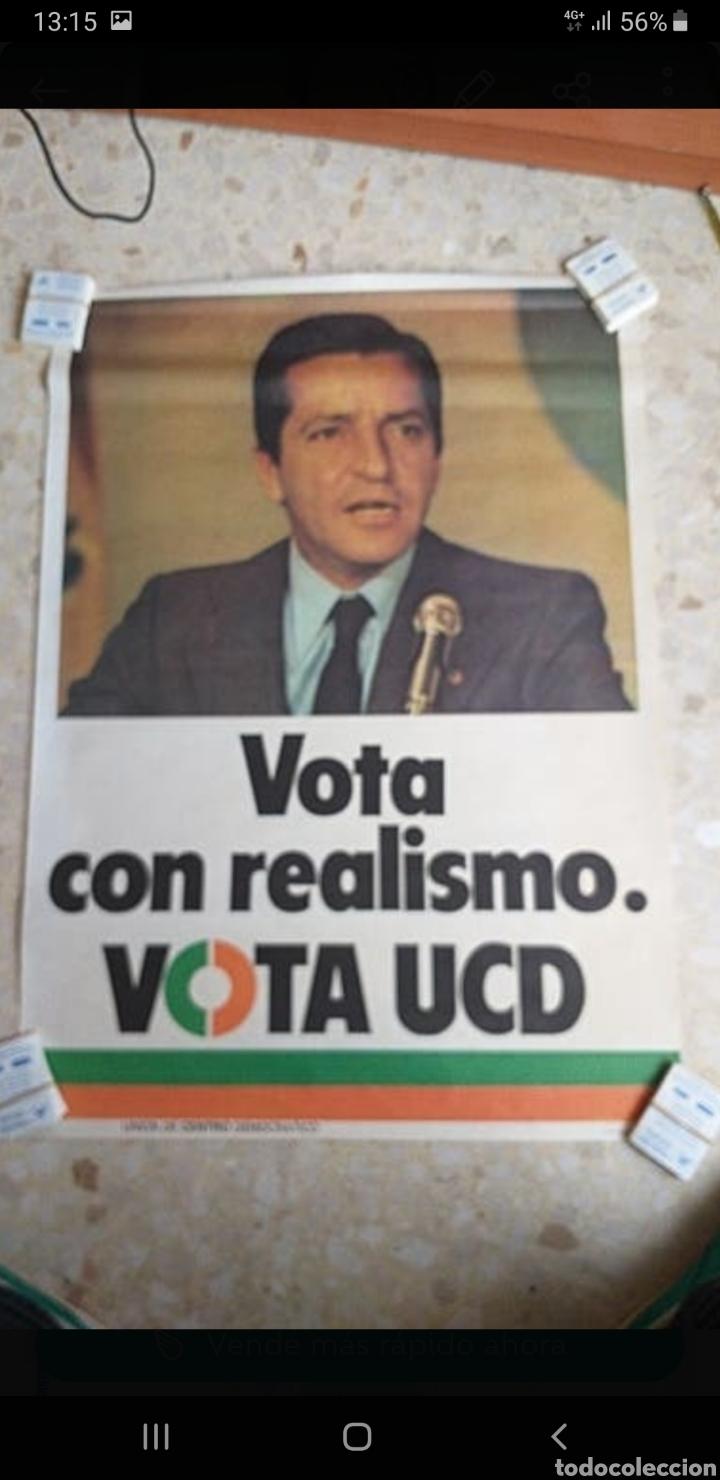 CARTEL SUAREZ.UCD.1979.POLITICA. (Coleccionismo - Carteles gran Formato - Carteles Políticos)