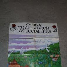 Carteles Políticos: CARTEL ELECCIONES 1979 PSOE NO REPRODUCCIÓN AUTOR JOSE RAMON. Lote 191263371