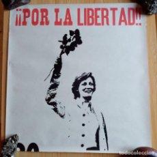 Carteles Políticos: FALANGE ESPAÑOLA Y DE LAS JONS (AUTENTICA) - POR LA LIBERTAD. Lote 191520206