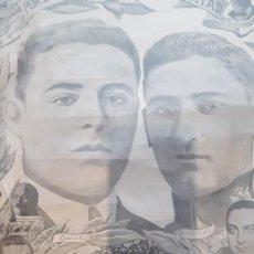Carteles Políticos: CARTEL HOMENAJE A LOS MILITARES FUSILADOS FERMÍN GALAN Y GARCÍA HERNANDEZ / GRAN FORMATO. Lote 191618163