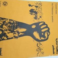 Carteles Políticos: CARTEL DE LA CONFERENCIA MUNDIAL DE SOLIDARIDAD CON EL PUEBLO ÁRABE LISBOA 1979. Lote 192252685