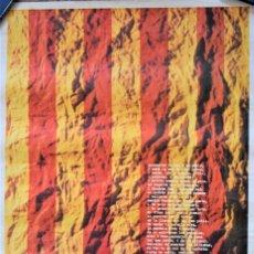 Carteles Políticos: CARTEL ORIGINAL CON UN POEMA DE VICENT ESTELLÉS AÑO 1975 - TAMAÑO 50 X 70 CM - LITOGRAFÍA MIRABET. Lote 197047913