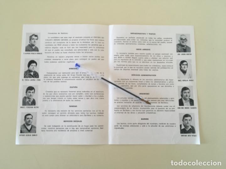 Carteles Políticos: Propaganda PSOE SARIÑENA Huesca política ... ZKR - Foto 2 - 198643782