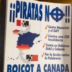 Carteles Políticos: RARO CARTEL POLÍTICO,NACIONAL REVOLUCIONARIO,CRUZ CELTICA,COLECCIONISMO. Lote 199051096